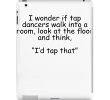 Tap Dancers iPad Case/Skin