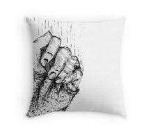 holding on Throw Pillow