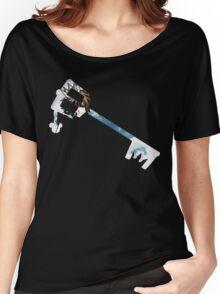 Kingdom Hearts Sora Keyblade Women's Relaxed Fit T-Shirt