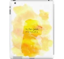 The Geek Monkey iPad Case/Skin