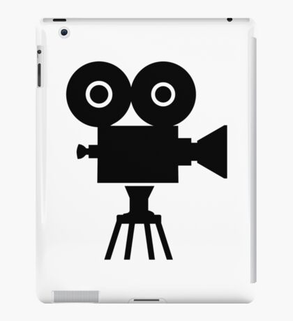 Film movie camera iPad Case/Skin
