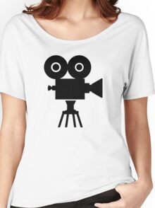 Film movie camera Women's Relaxed Fit T-Shirt