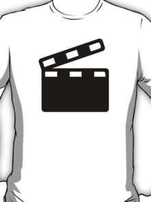 Movie clapper cinema T-Shirt