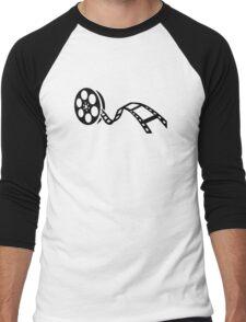 Movie film reel Men's Baseball ¾ T-Shirt