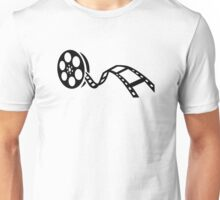 Movie film reel Unisex T-Shirt