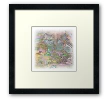 The Atlas Of Dreams - Color Plate 27 Framed Print