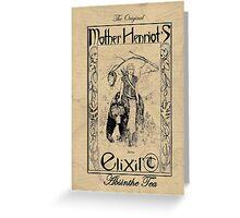Mother Henriot's Elixir Greeting Card