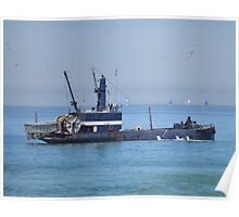 A Fishing Boat ~ Imperial Beach, California ~ America Poster