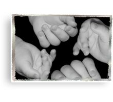 Tiny Hands Canvas Print