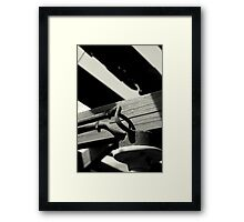 The Feed Framed Print