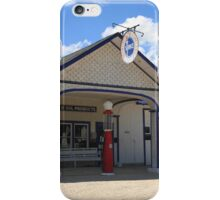 Route 66 - Odell Gas Station iPhone Case/Skin