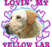 Lovin' My Yellow Lab by atomicblizzard