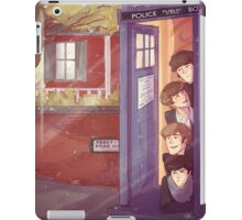 A trip in the TARDIS iPad Case/Skin