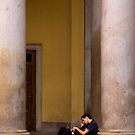 Between the Columns by Larry Varley