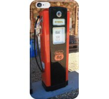 Route 66 - Vintage Gas Pump iPhone Case/Skin