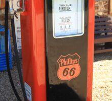 Route 66 - Vintage Gas Pump Sticker