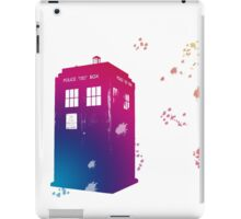 Doctor who - The Tardis in Watercolours ... Geronimo ! * laptop skins, and mugs added * iPad Case/Skin