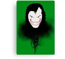 Shining Smile Canvas Print
