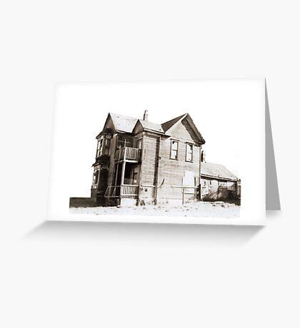 vanshing home Greeting Card