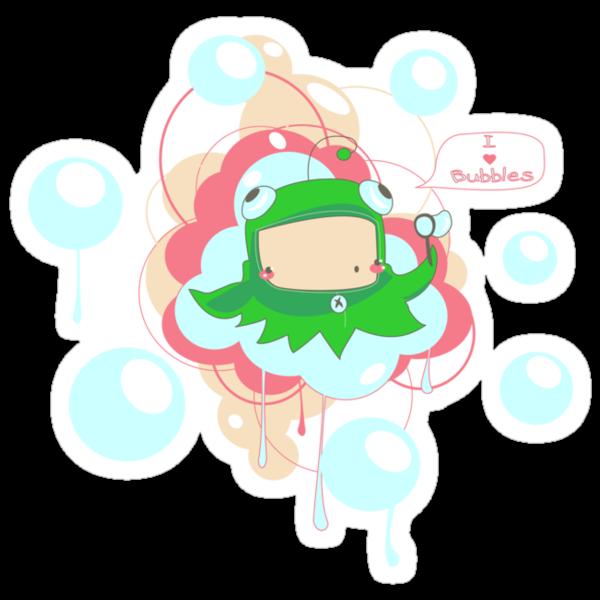 I <3 bubbles by bahgoesthesheep