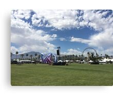 Coachella Canvas Print