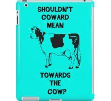 Funny Farm Coward Defintion iPad Case/Skin