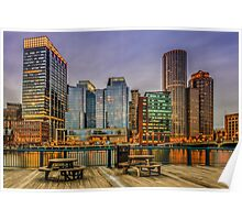 Boston Financial District Poster