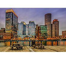 Boston Financial District Photographic Print