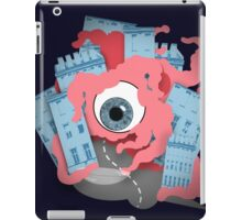 Crawling eye loses contact lens iPad Case/Skin