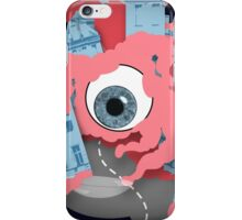Crawling eye loses contact lens iPhone Case/Skin