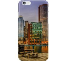 Boston Financial District iPhone Case/Skin