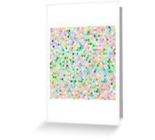 Honeycomb Mermaid Pearl Greeting Card