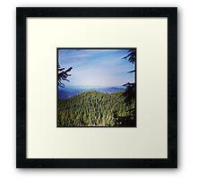 Washington Hills Framed Print