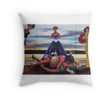PASSION OF A FASHION Throw Pillow