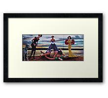 PASSION OF A FASHION Framed Print