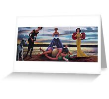 PASSION OF A FASHION Greeting Card