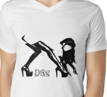 Dgz Mens V-Neck T-Shirt