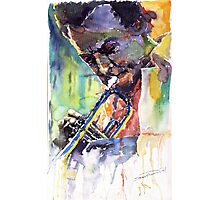Jazz Miles Davis 9 Blue Photographic Print