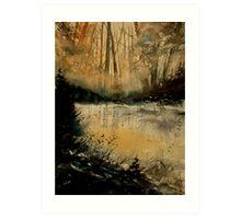 watercolor 050608 Art Print