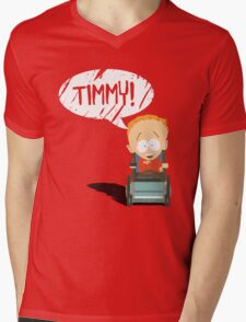 Timmy! Mens V-Neck T-Shirt