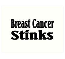 Breast Cancer Art Print
