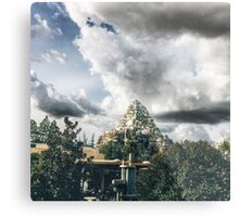 Matterhorn at Disneyland  Metal Print