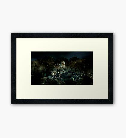 The White Devil Framed Print