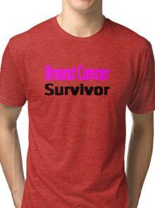 Breast Cancer Tri-blend T-Shirt