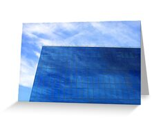 as blue as my blue sky Greeting Card