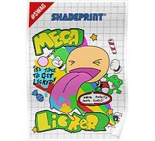 Mega Licker! [Cartridge Sleeve Art Work]. Poster