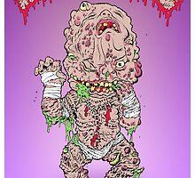 GPK Autopsy Zombie Staple Baby by MiscreationToys