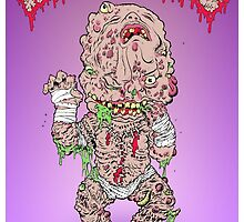 GPK Autopsy Zombie Staple Baby by MiscreationToys