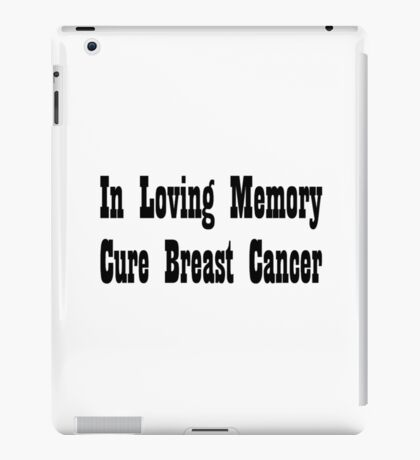 Breast Cancer iPad Case/Skin