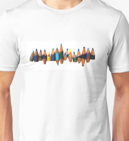 Old pencil stubs Unisex T-Shirt